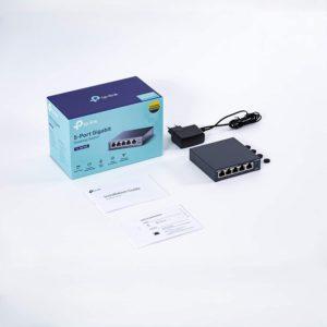TP-Link 5 Port Gigabit Ethernet Network Switch | Ethernet Splitter |(TL-SG105)