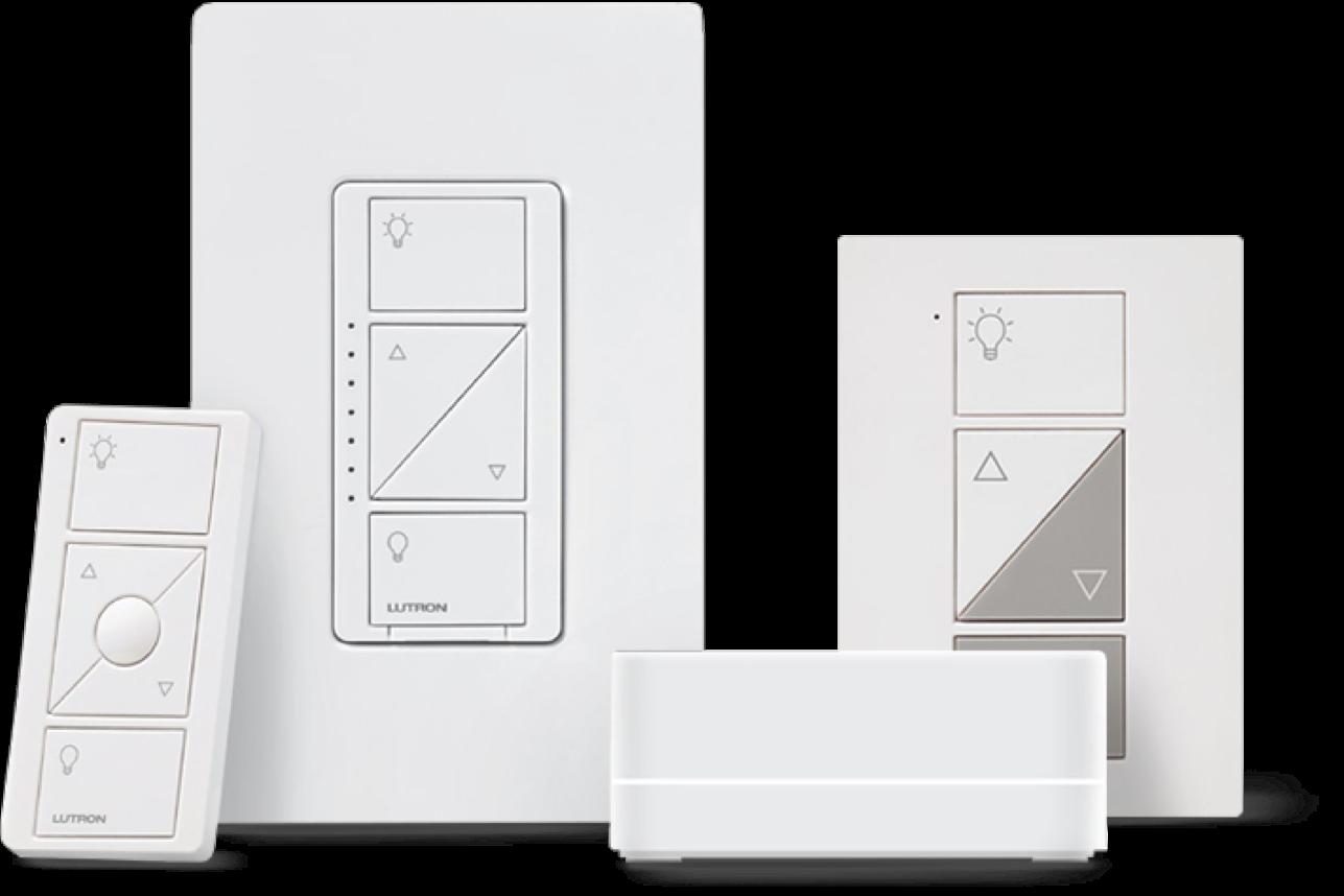 Meet Caséta by Lutron. Smart Lighting At The Switch